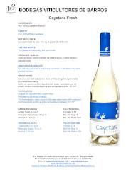 Vino Blanco Cayetana Fresh