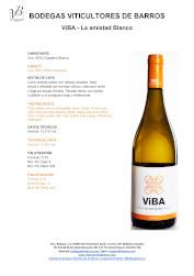 Vino Blanco ViBA La Amistad Blanco