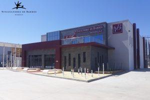 nuevas oficinas y tienda bodega viticultores de barros