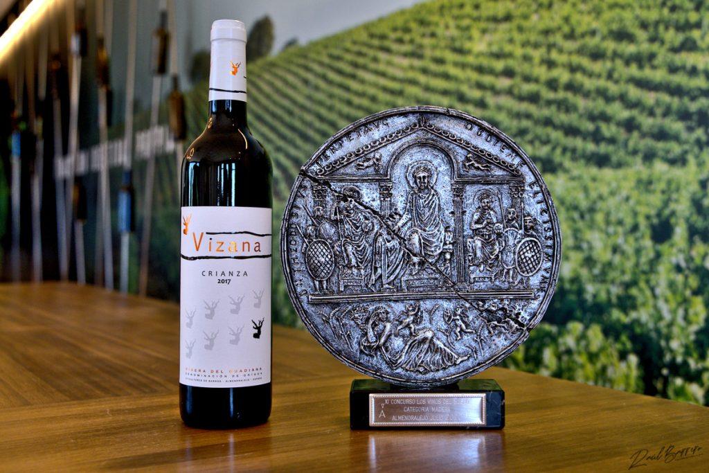 vizana crianza almendralejo ganador premio vinos del museo