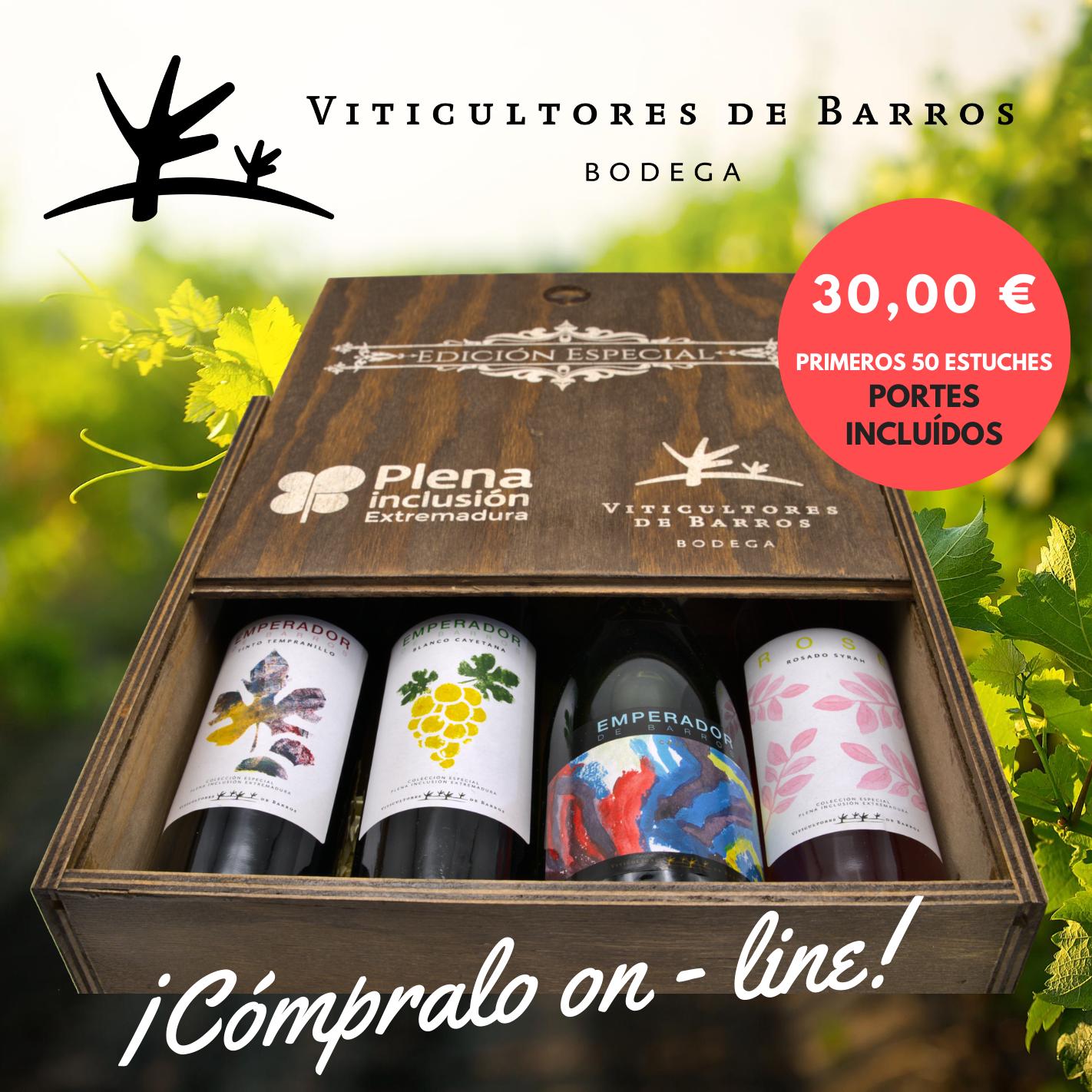 vinos edicion especial plena inclusión